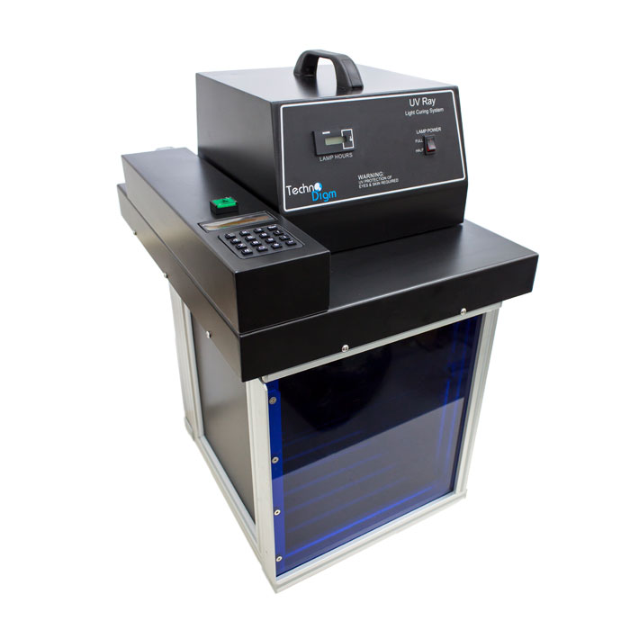UV Curing Chamber With Shutter